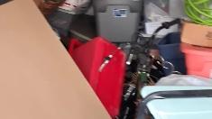 Drain cleaning machine