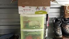 Plastic-drawers